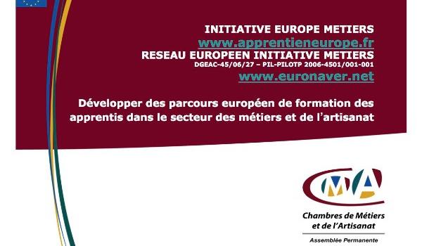 Evaluation d'un programme transnational EQUAL sur la mobilité dans l'apprentissage des métiers d'art