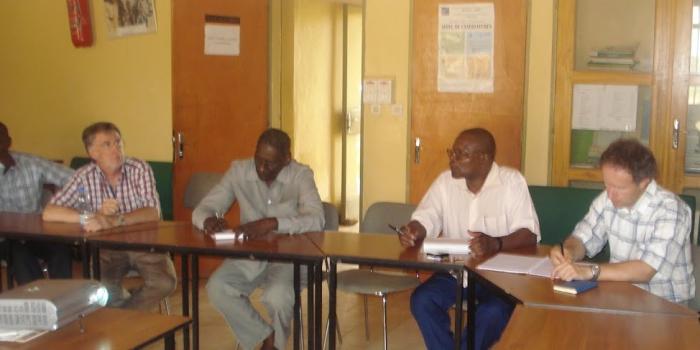 Lutte contre l'ensablement dans les cuvettes oasiennes au sud-est Niger