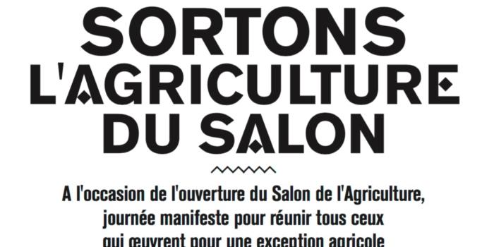 Tr@me présent à la journée «Sortons l'agriculture du Salon»